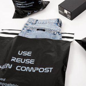50 packs Medium Size Compostable Mailer/Compostable Satchel/Biodegradable Mailer